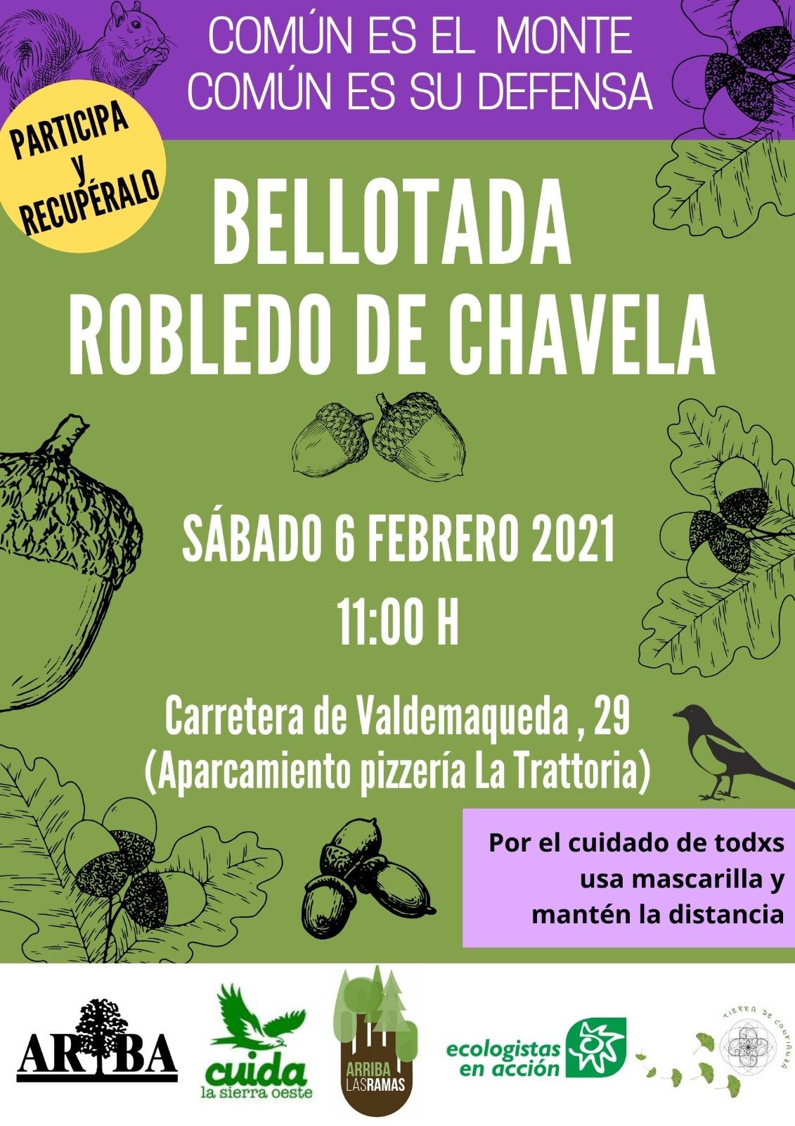 Bellotada en Robledo de Chavela