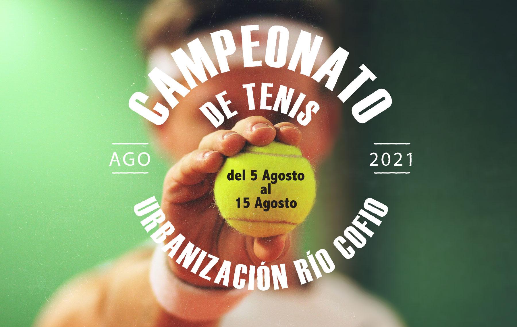 Campeonato de Tenis Urb. Río Cofio 2021