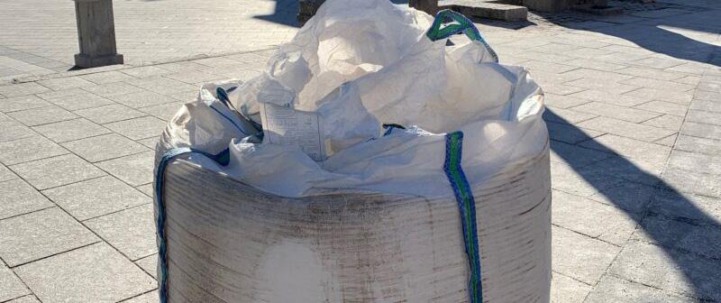 Distribución de sacas de sal