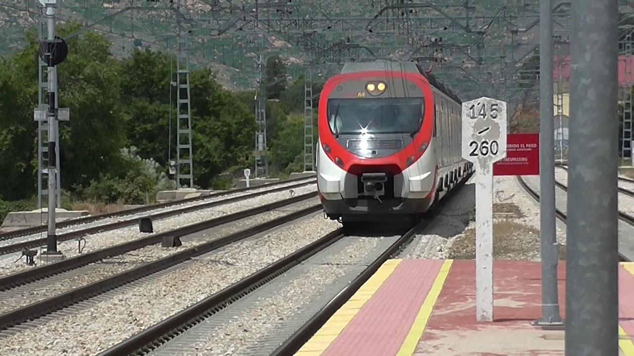 Tren Cercanías descarrilado Robledo de Chavela